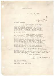 herbert hoover on the great depression and new deal  herbert hoover to bruce barton 3 1933 gilder lehrman collection