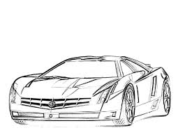 Sport Cars Coloring Pages Car Page Free Printable 15001092