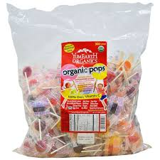 YumEarth, <b>Organic Pops</b>, <b>Assorted Fruits</b> Flavors, 300 <b>Pops</b>, 73.8 oz