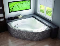 corner jacuzzi tub dimensions