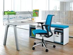 best office desktop. Astonishing Best Blue Ergonomic Office Chairs With White Desk In Wood Flooring Model Inovative Desktop R