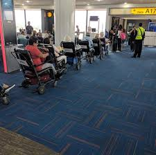 now you may not actually have a diity but just in need of carrying the luggage most airlines will be happy to assist if you simply ask