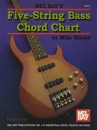 Basic 4 String Bass Chord Chart Details About 5 String Bass Guitar Chord Chart