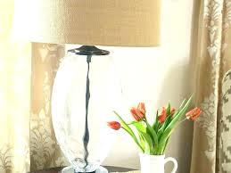 extra large burlap lamp shade drum size of glass lighting inspiring lamps tab splendid