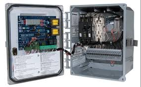 onsite installer alarms controls and monitor systems intelligent pump control timed or demand dose control panel