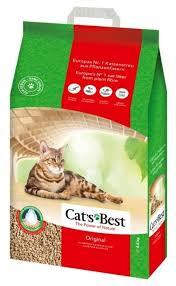 Комкующийся <b>наполнитель Cat's Best</b> Original 20 л — купить по ...