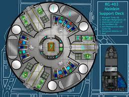 Deck Plans  Atomic RocketsSpaceship Floor Plan