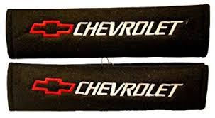 chevrolet racing logo. chevrolet seat belt shoulder pad one pair red logo racing