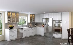 white kitchen cabinets with dark grey floors cabinet designs