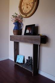 small entryway furniture. 26x7x30 Skinny Console Table Thin Farmhouse Reclaimed Wood Wall Cottage Decor Small Apartment Entryway Furniture F