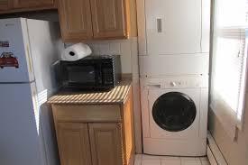Washer And Dryer In Kitchen Unit 2 West Duplex 821 Thirteenth Ave Belmar Nj