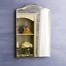 Medicine Cabinet Frame Have To Have It Scallop Top Small Recessed Medicine Cabinet