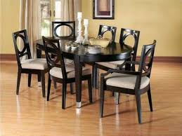 glossy black wood dining set with padded seat chair for dining room  furniture ideas Dorel Living 5 Piece