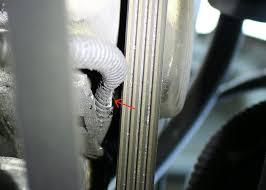 1997 honda civic codes p1336 and p1337 wiring harness damaged closeup of the damage to the wiring harness