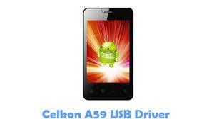 Download Celkon A59 USB Driver