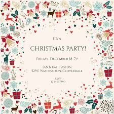 Printable Holiday Party Invitations 10 Free Christmas Party Invitations That You Can Print