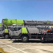 China 25 Ton Truck Crane For Zoomlion Qy25v432 On Global