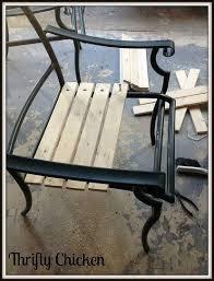 old patio furniture