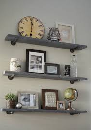 how to make shelves without brackets build wall mounted garage