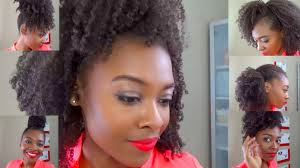 Easy Hairstyles On The Go Six Easy Hairstyles On An Old Wash Go For Natural Hair Heels
