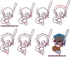learn how to draw percy jackson cute cartoon chibi kawaii style learn how to draw kawaii and cute s with kids drawing book
