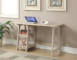 trestle office desk. Amazon.com: Convenience Concepts Designs2Go Trestle Desk, Weathered White: Kitchen \u0026 Dining Office Desk