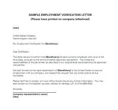 Employment Verification Letter Template Microsoft Adorable Employment Verification Letter Template Free Templates Job For