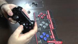 Обзор <b>защитных</b> резинок/<b>накладок</b> на <b>джойстики</b> PS4/PS3 ...