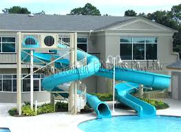 Outdoor pool with slide Cool Water Slide For Pool Full Size Of Outdoor Pools Slides Home Architecture Banzai Falls In Ground Water Slide For Pool Vortex Best Price Swimming Lake Naomi Club Rock Pool Slides For Pools Sale Inground Used Swimming Ourfreedom