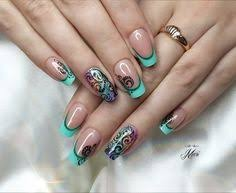 Decorative Nail Art Designs Nail Art 100 Best Nail Art Designs Gallery Color french 86