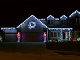 house outdoor lighting ideas design ideas fancy. Clever Design Christmas Outdoor Icicle Lights Blue Best Led Solar House Lighting Ideas Fancy