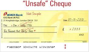 How To Write A Cheque Uk Barclays Number
