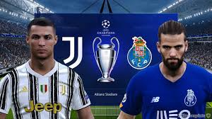 PES 2021 UEFA Champions League 2020/2021 | Juventus vs FC Porto - YouTube