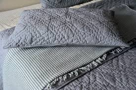 Summer Quilt in Grey, Summer Cotton Light Quilts & Nottingham, Handmade Diamond Pattern Luxury Cotton Quilt in Charcoal grey -  Queen Size Adamdwight.com
