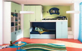 Girls Childrens Bunk Beds with Storage