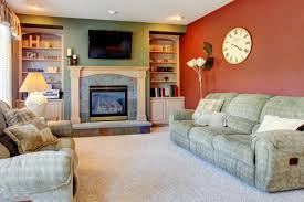 Interior Painting Ideas Use Warm Colors To Liven Up A Dull Season Custom Interior Design Color Painting
