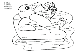 1st Grade Math Coloring Pages Addition Coloring Page Math Color