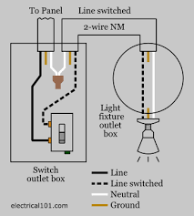 light switch wiring diagram nm light switch wiring electrical 101 on diagram of light switch wiring
