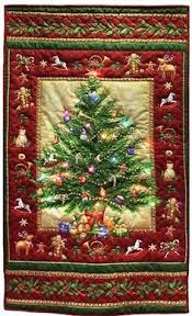 The Tree of Life Free Pattern: Robert Kaufman Fabric Company ... & Lighted+Old+Time+Christmas+Tree+Quilt+Kit+by+ Adamdwight.com