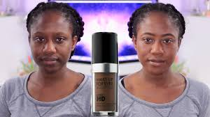 makeup forever ultra hd foundation review dark skin oily skin worth it jasmine rose