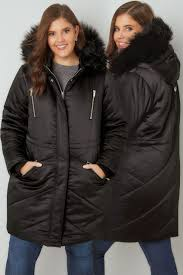 plus size parka plus size puffer quilted jackets yours clothing