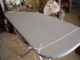 and Sew On: Newest 'old' ironing board! & This is a wide end, sort of like my wide end! ;-) It measure's 18