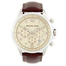michael kors mk8267 men s watch mk watches men michael kors men s mk8115 brown leather chronograph watch