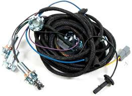mopar parts electrical and wiring wiring and connectors 1966 barracuda rear light harness