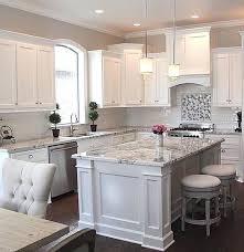 chic white granite kitchen countertops modern granite kitchen color with white cabinets white granite kitchen countertops