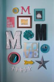 bedroom appealing wall decor for teens room accessories alphabeth and frame with mirror wall decorations