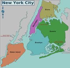 map of nyc  boroughs  neighborhoods