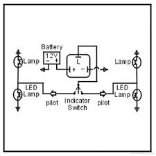 12v 4 pin relay wiring annavernon 3 pin led flasher relay wiring diagram schematics and