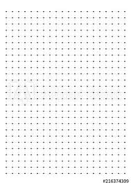 Dot Grid Paper Graph Paper 1 Cm On A4 On White Background