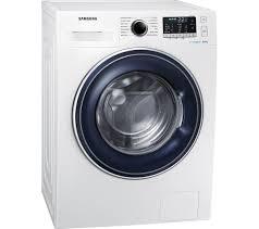 samsung washing machine. samsung ecobubble ww80j5555fw 8 kg 1400 spin washing machine - white samsung